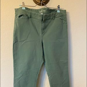 Old Navy Pixie Green Pants
